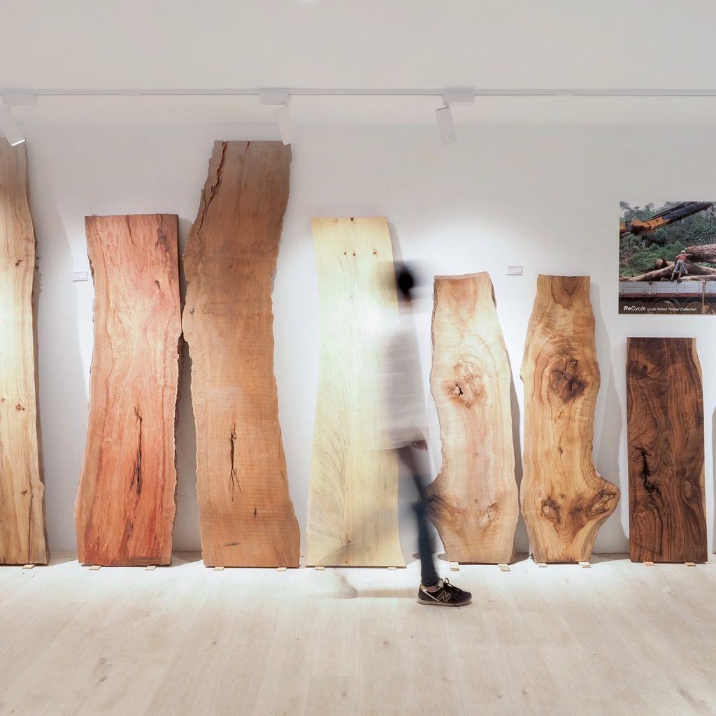 香港木庫 回收榻樹 造傢具 木板 陳列室