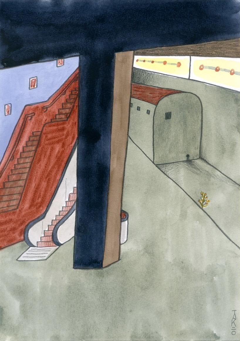 楊學德作品:《地底迷宮》