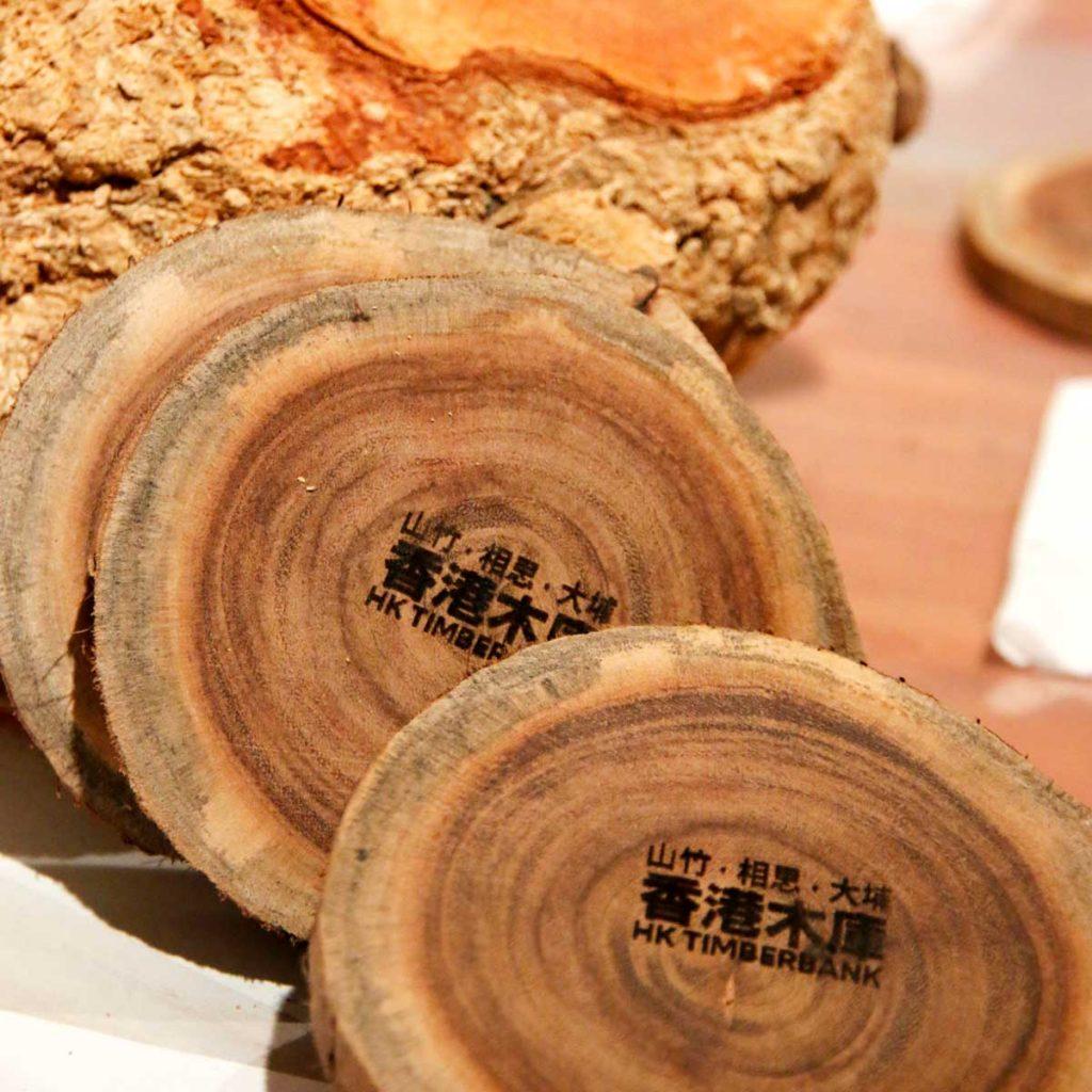 香港木庫 回收榻樹 造傢具 木杯墊 山竹 大埔