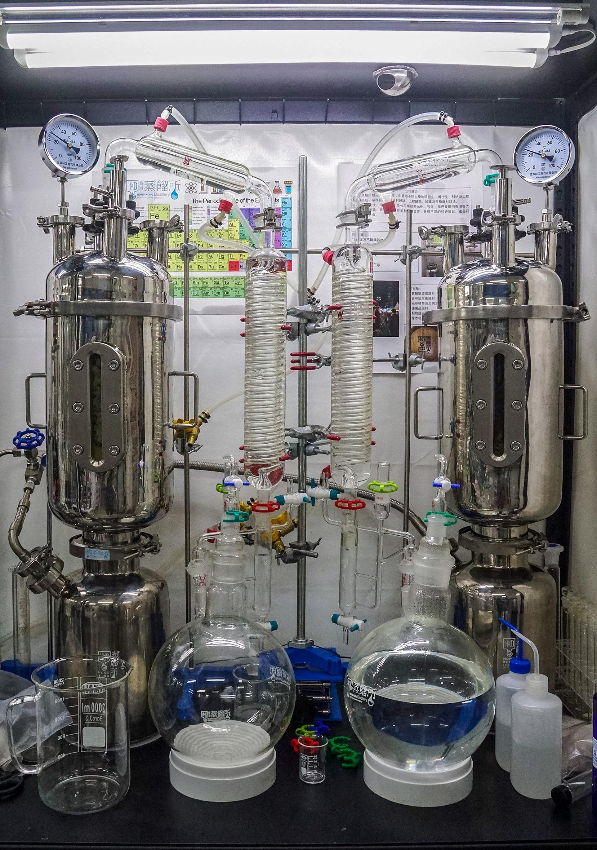 香港蒸餾所之蒸餾設備