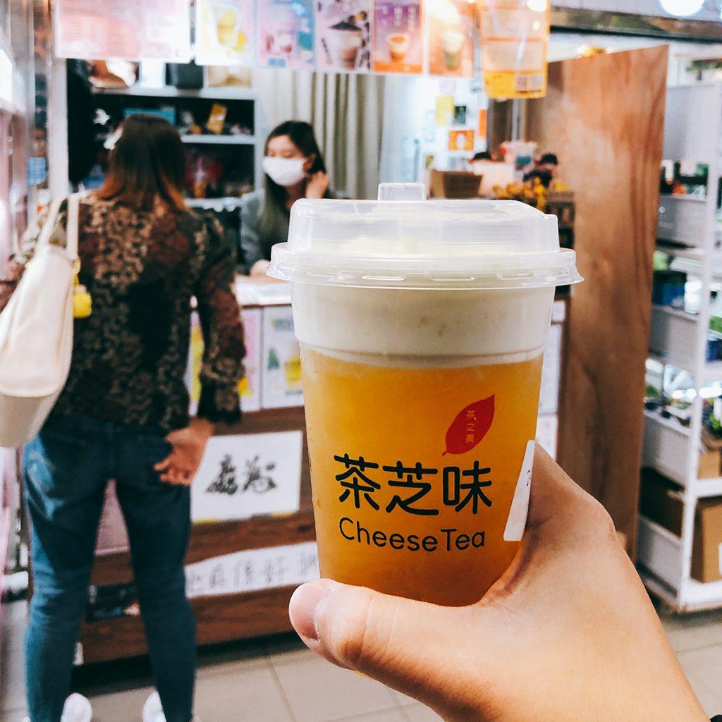 葵涌廣場 黃店 良心店 茶芝味 芝士奶蓋 茉利花綠茶