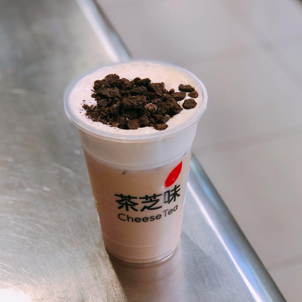 葵涌廣場 黃店 良心店 茶芝味 Oreo 奶茶 芝士奶蓋