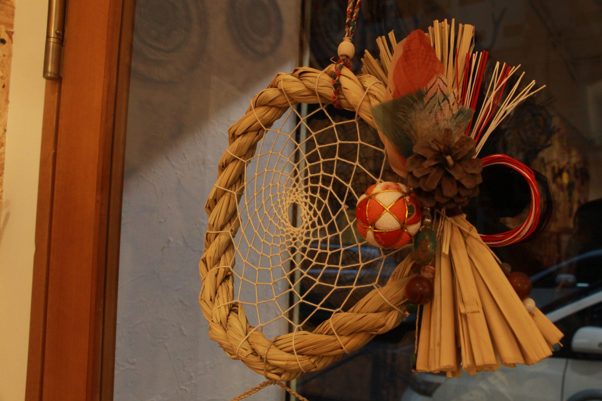 Mishtar Life Style Dreamcatcher 捕夢網 日本新年注連飾