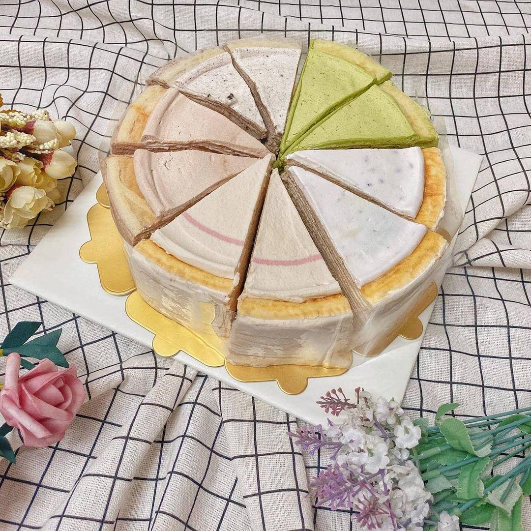 Holam Bakery 千層蛋糕 Cut cake  生日蛋糕