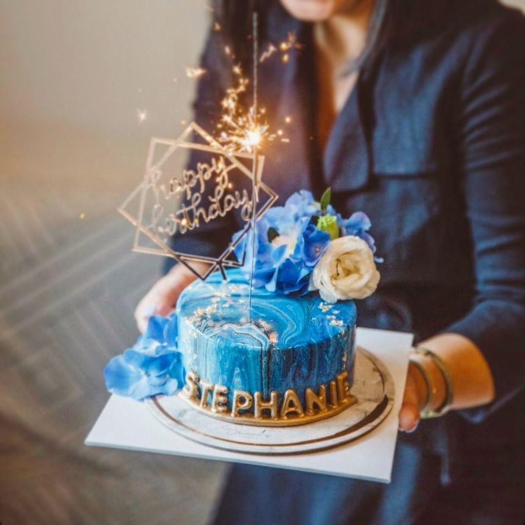 Shan's Late 雲石蛋糕 生日蛋糕 訂造