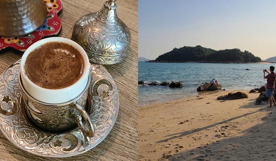 馬灣新路線︱遊隱世沙灘 歎治癒土耳其咖啡