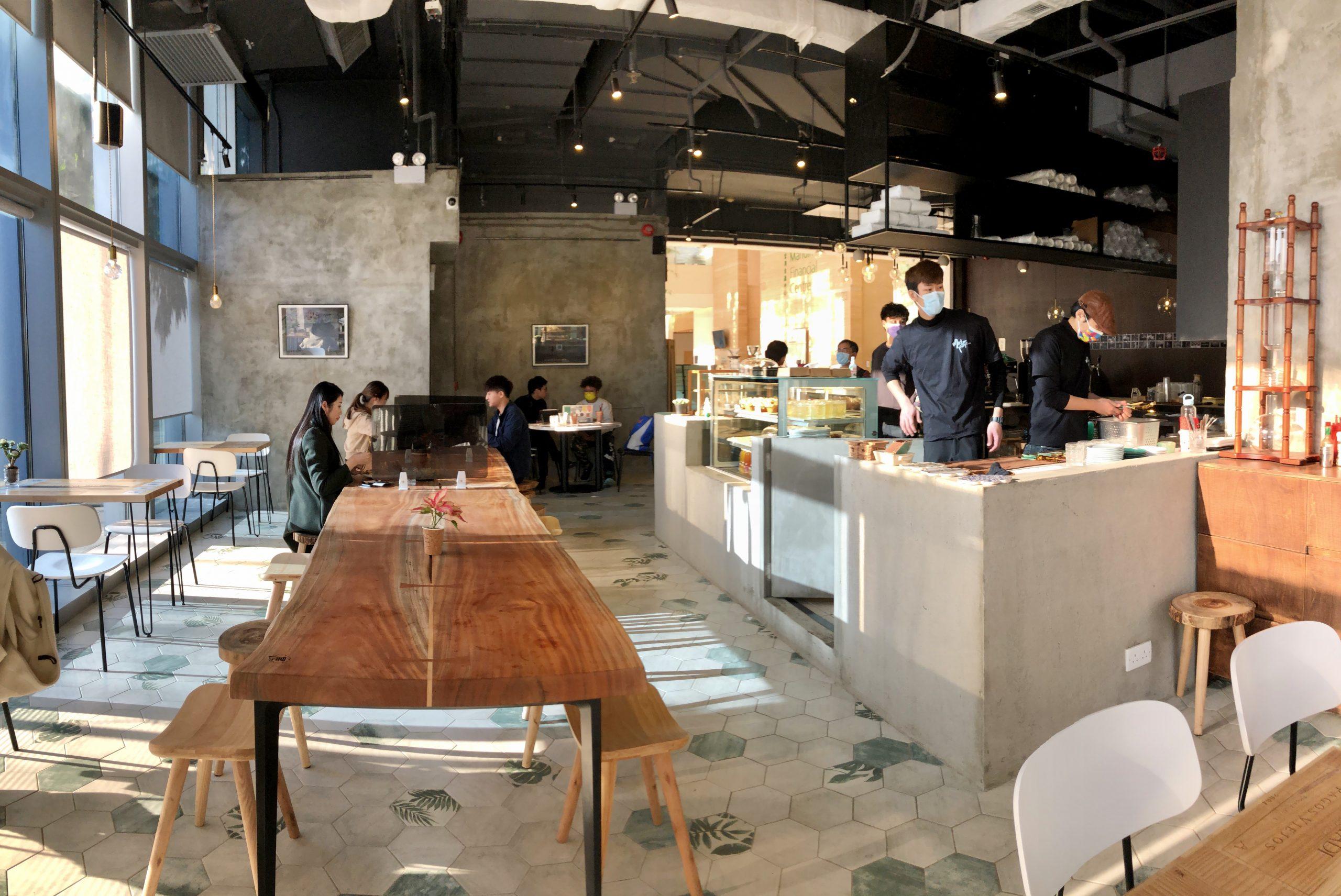 觀塘 Master Room Cafe One Little Room 咖啡店 宏利金融中心 環境