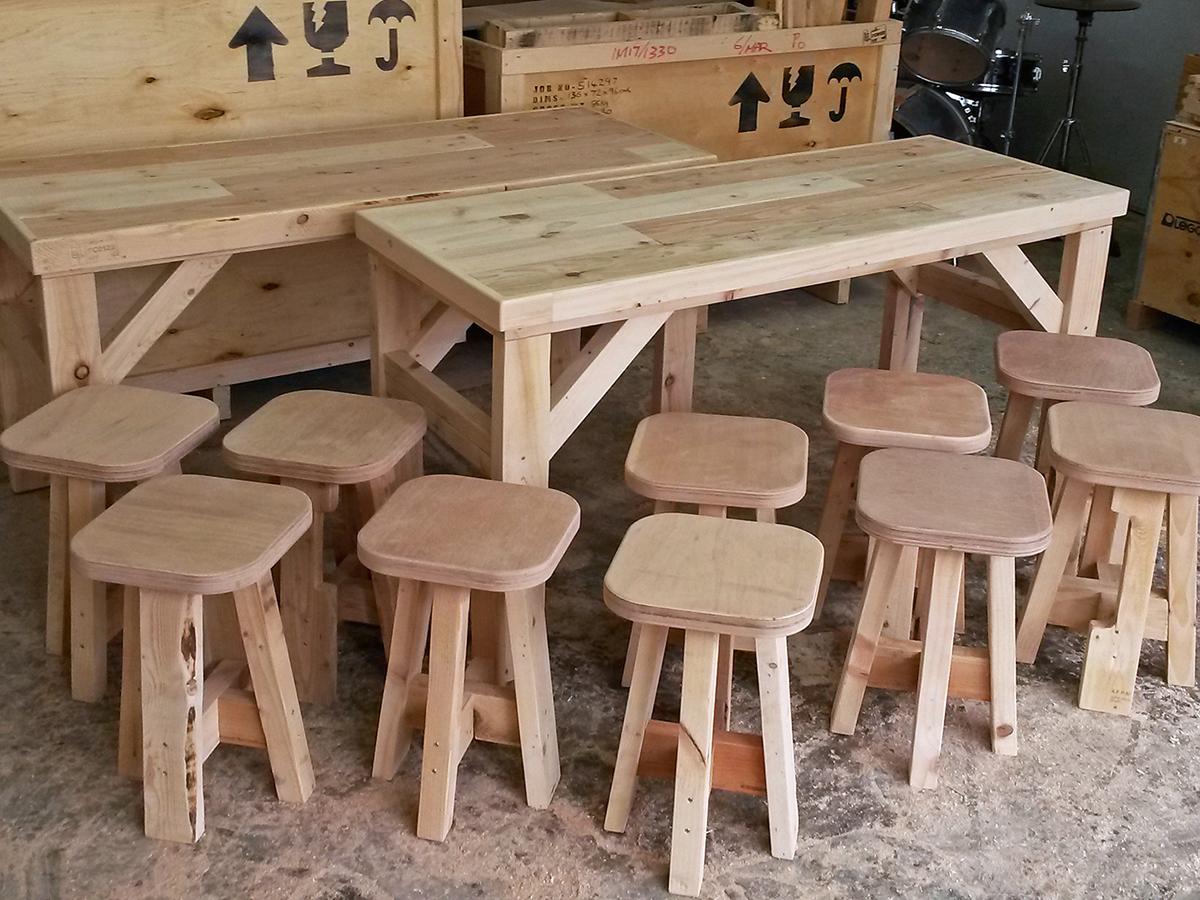長尾工作室 回收 舊木 再造 環保