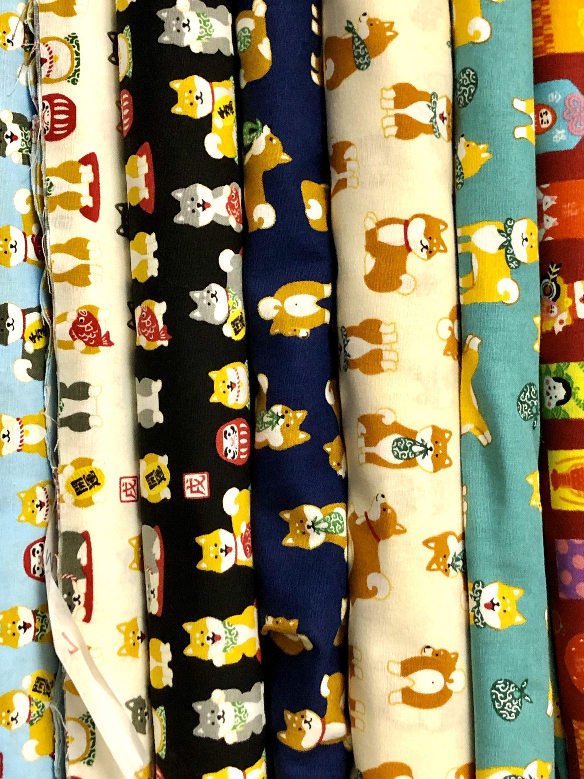 KT Fabrics 觀塘 縫紉 寵物 柴犬 豆柴