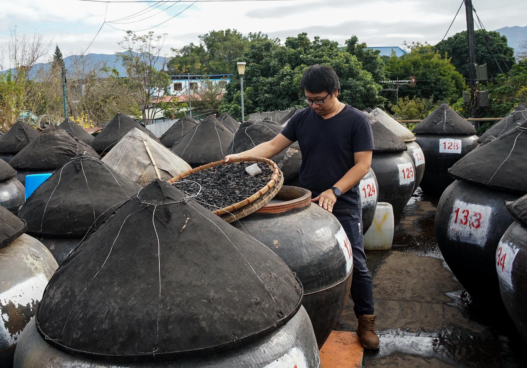悅和醬園 生曬豉油 古洞工場