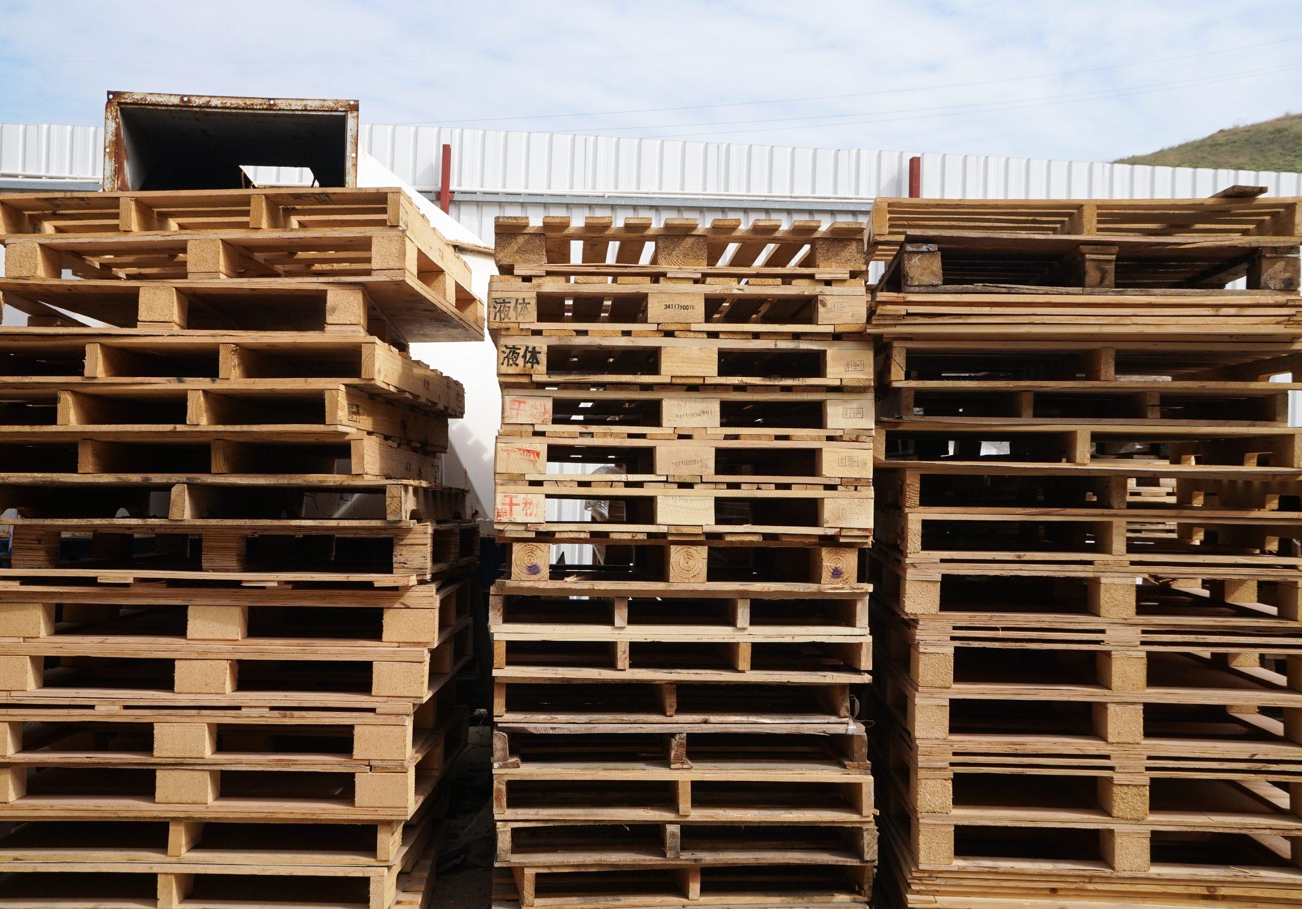 木卡板 六斗 環保木貓砂 完好無缺 浪費 堆填