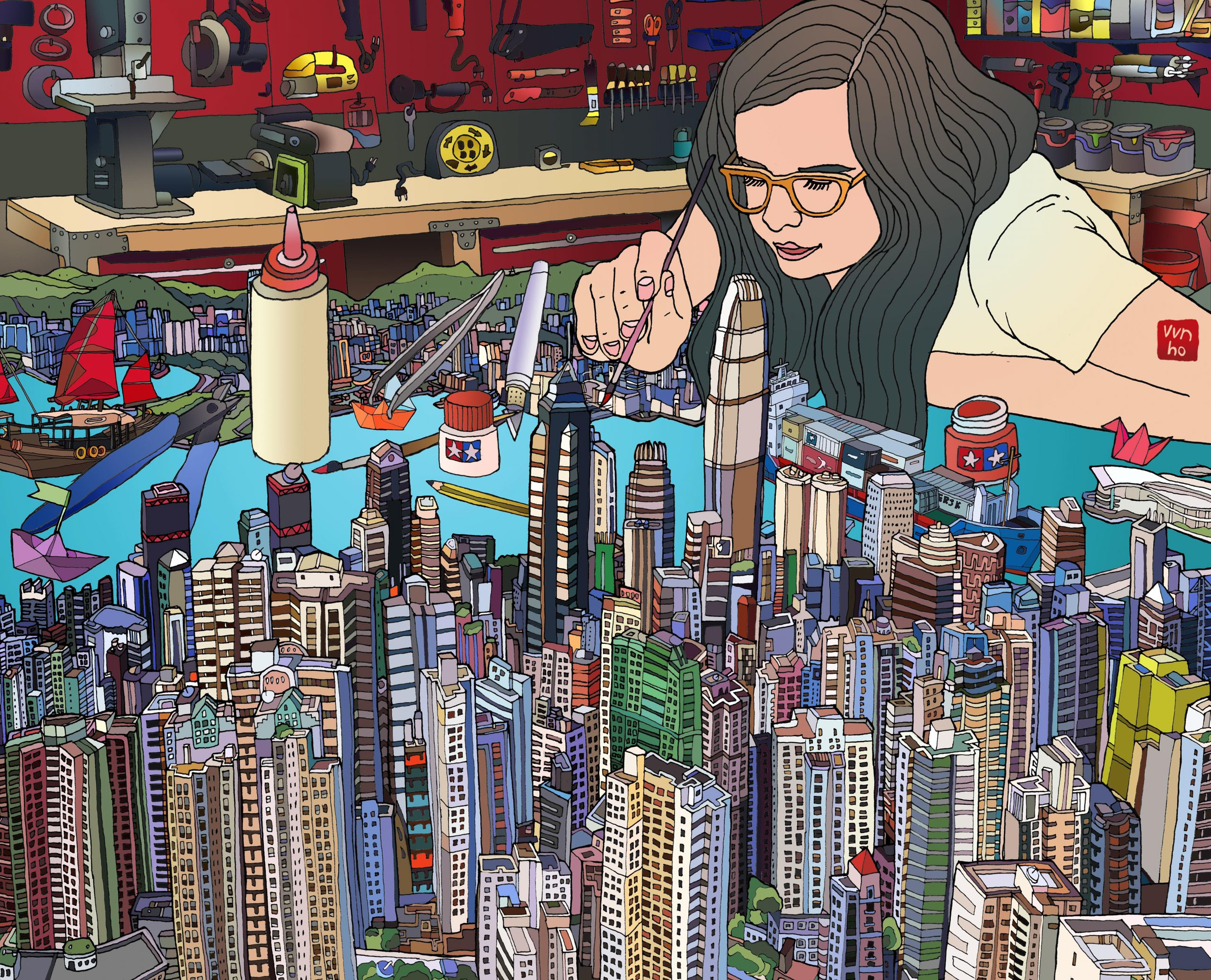 Vivian Ho, 香港插畫師, Wish you were here, The best is yet to come