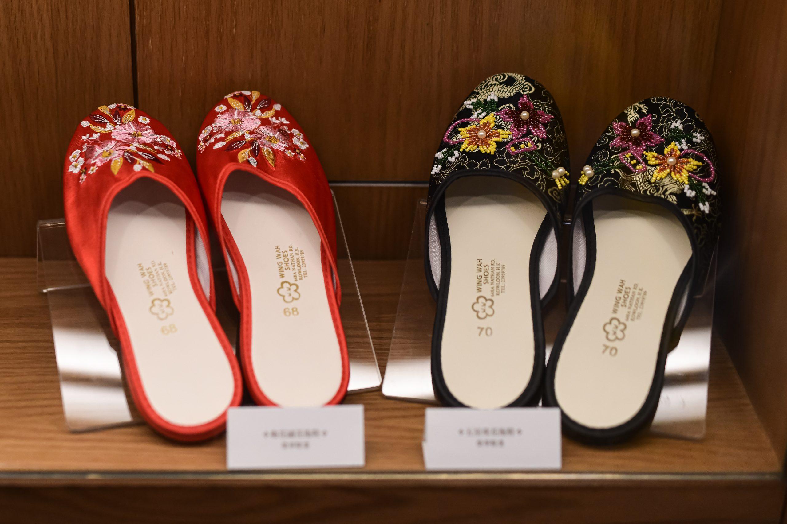 老香港設計展覽 香港遺美 阿銀冰室 歷史 老店 榮華鞋業 拖鞋