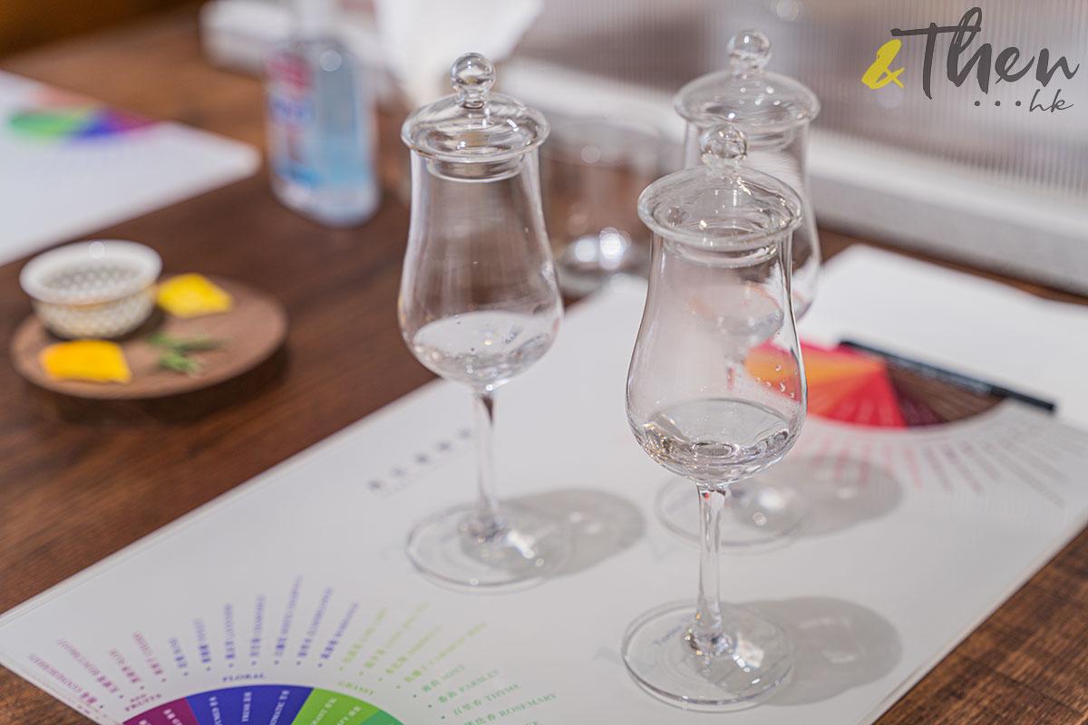 白蘭樹下 丹丘蒸留所 品酒 玻璃杯
