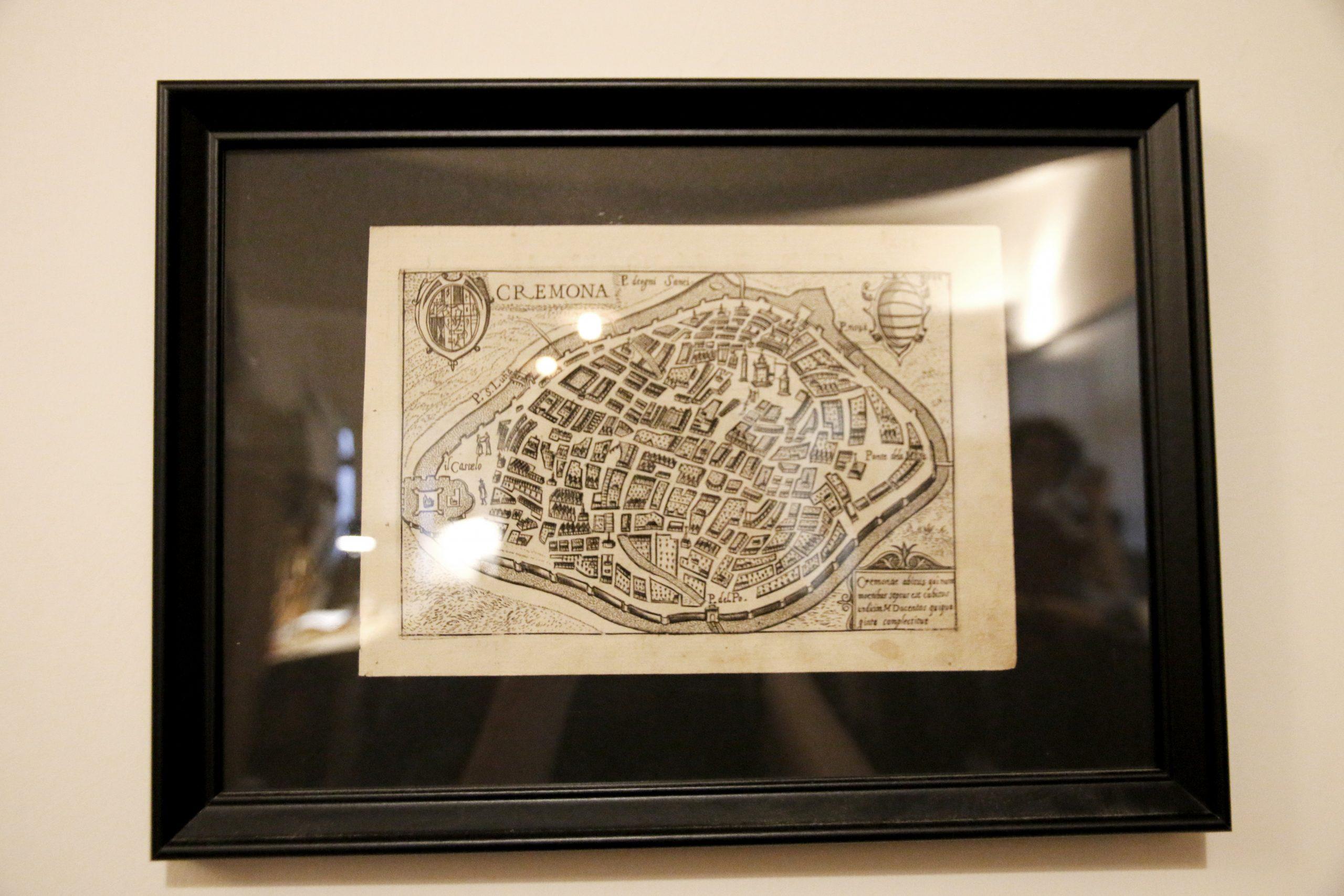 cremona地圖 意大利 小提琴之都