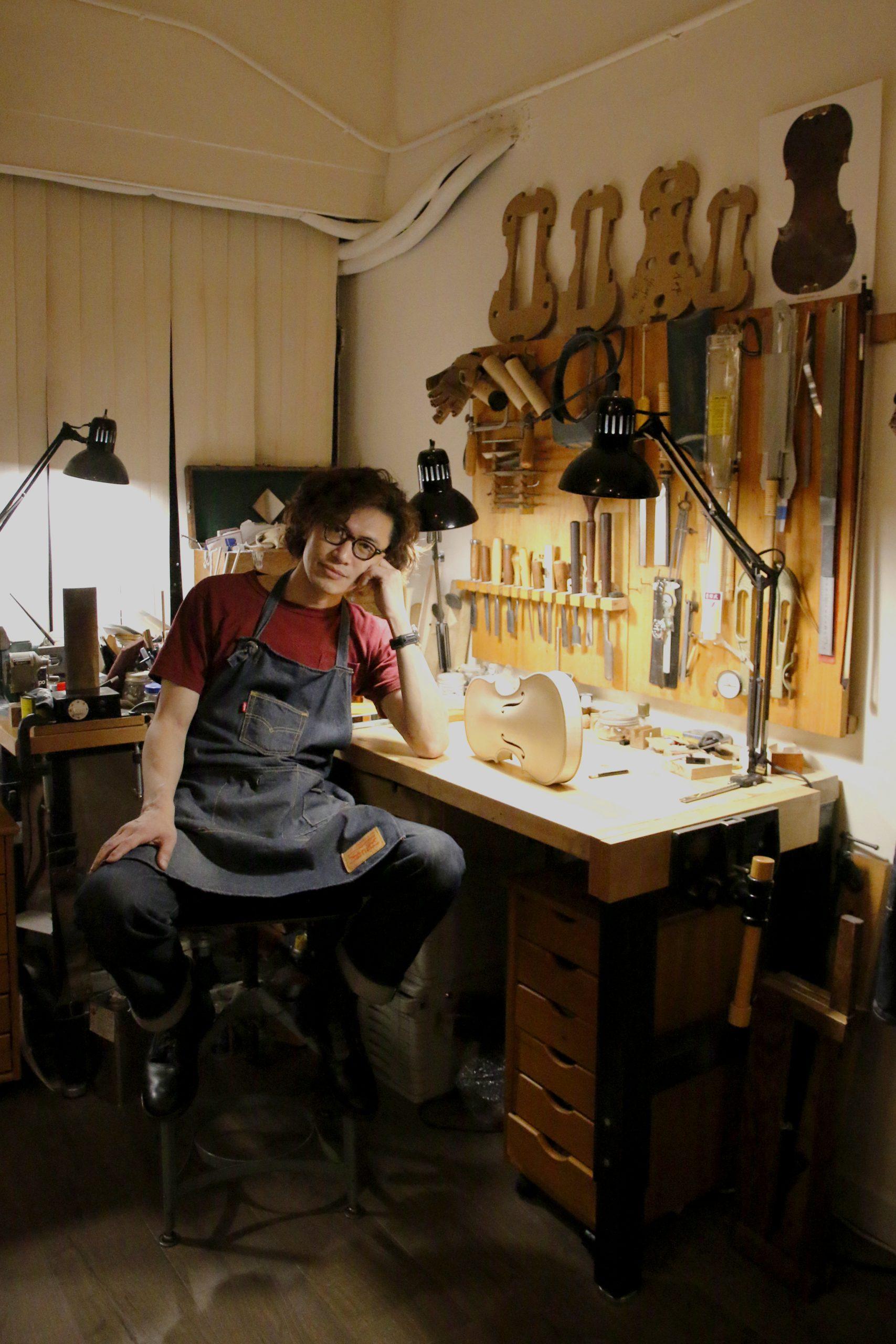 李智朗 小提琴 造琴師