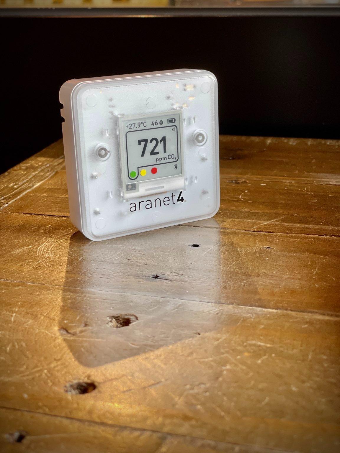 二氧化碳監測器 Aranet 4 空氣質素