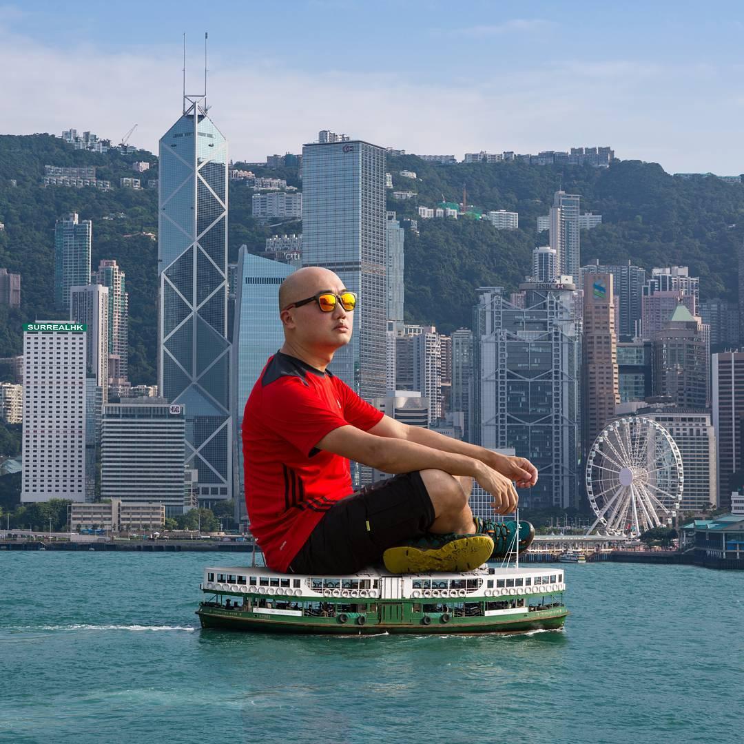 surrealhk Tommy Fung Photoshop 改圖 攝影 個展 巨人 天星小輪