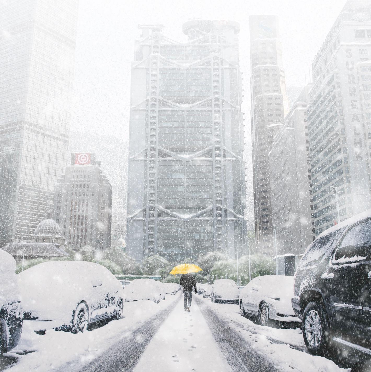 surrealhk Tommy Fung Photoshop 改圖 攝影 個展 冰天雪地 滙豐