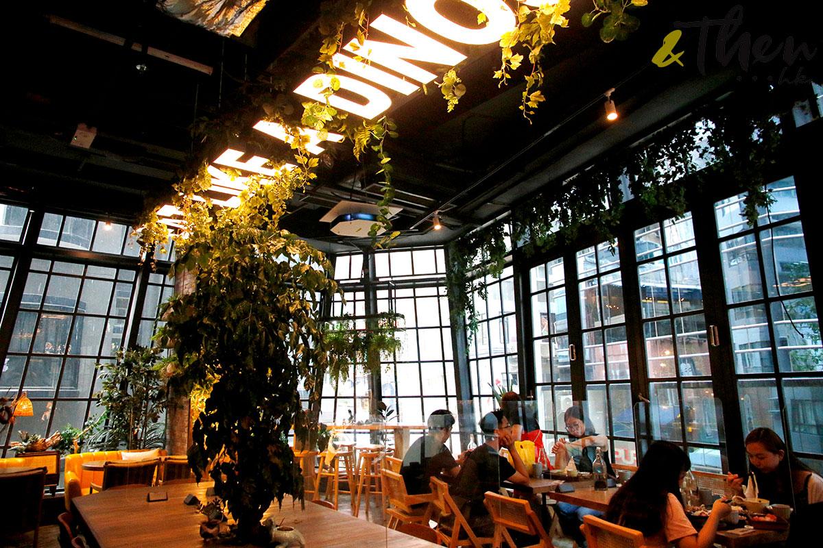 中環 些利街 為食龍 hungry dino 植物包圍