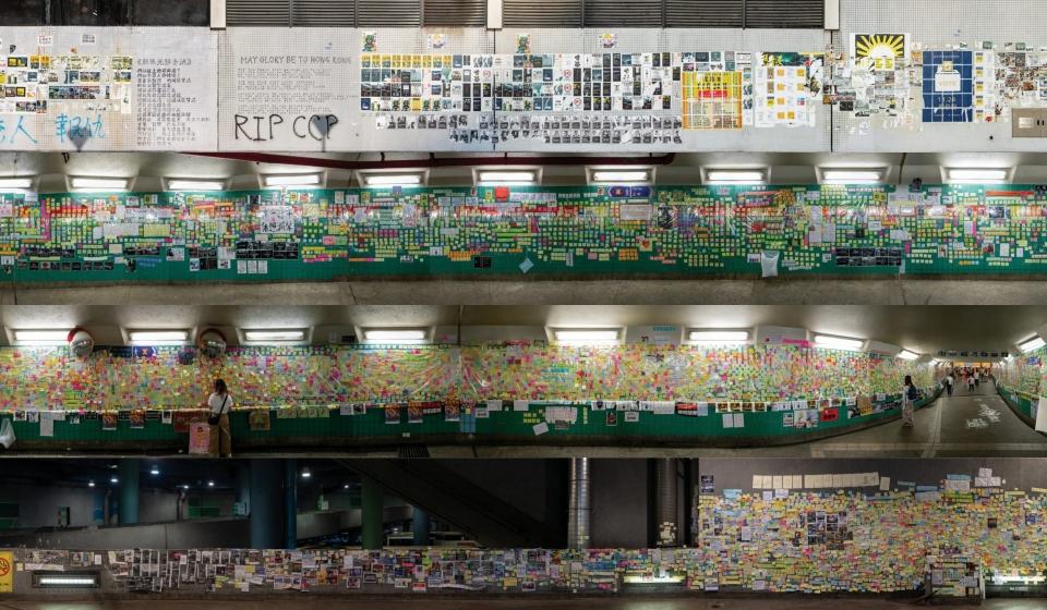 全景「備份」港人社運回憶︱連儂牆攝影師:牆比人更易留低