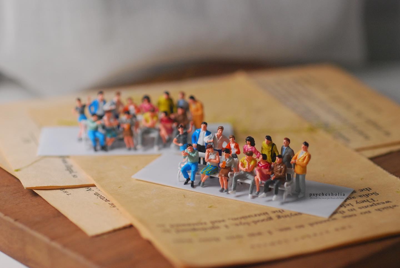 香港人 移民 移民禮物 psychesholia 樹脂微縮模型 手工藝 微縮