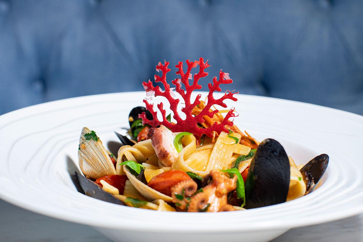 灣仔 莊士敦道 Crust Italian scialatielli 意大利海鮮意粉