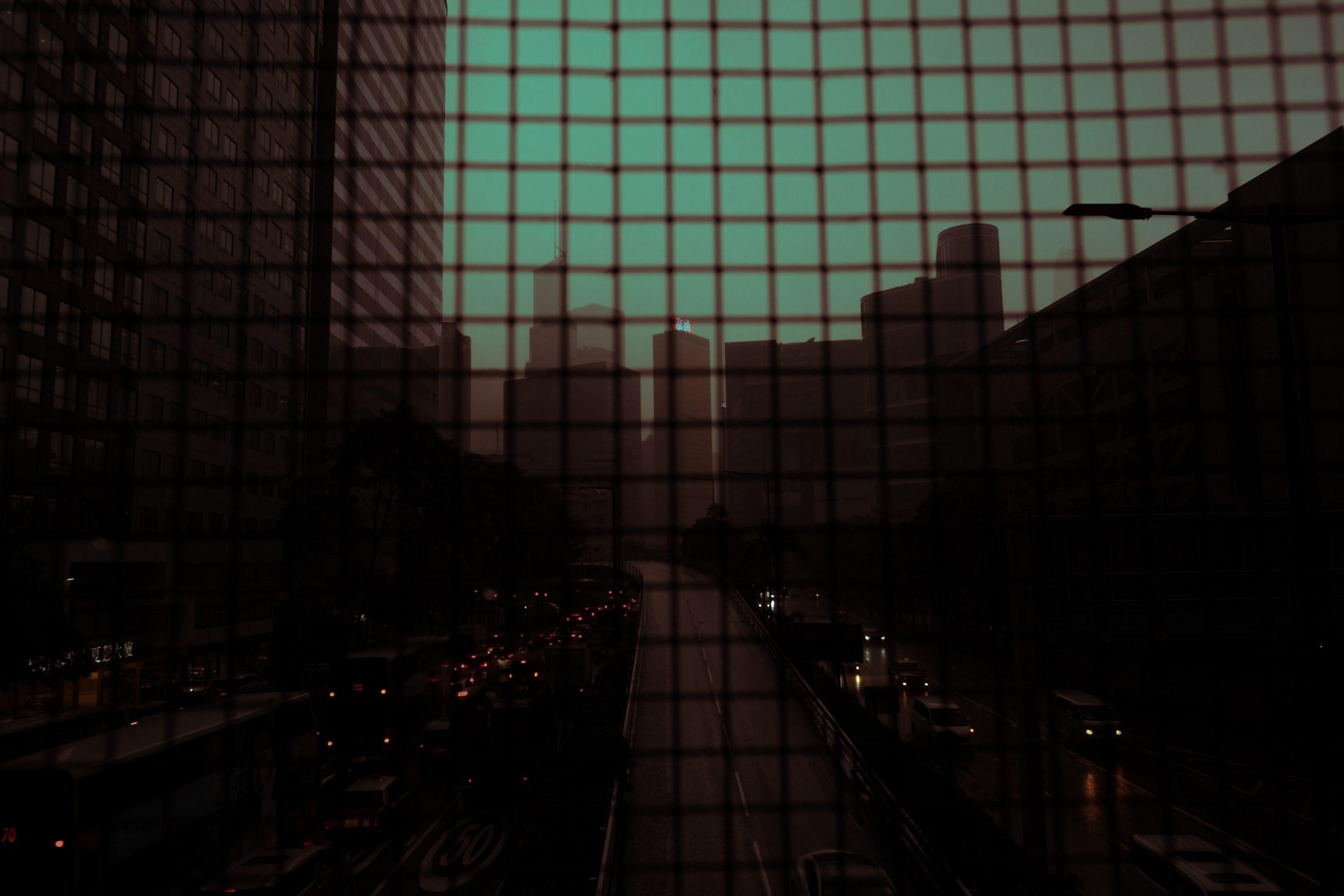 深水埗 大南街 Parallel Space 《幽暮之城》相展 Deacon 國安法 鐵籠 馬路