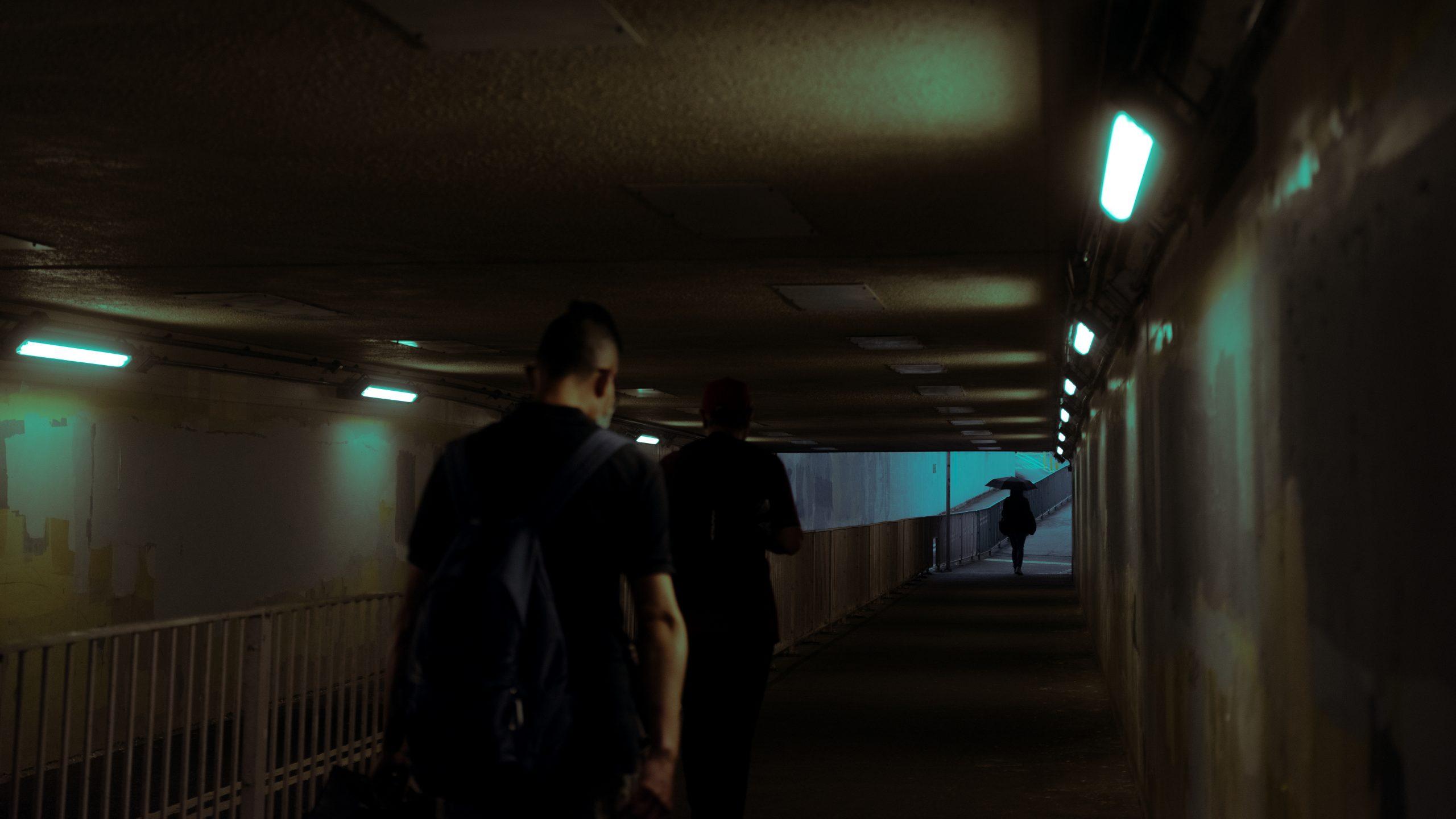 《幽暮之城》攝影集 Deacon Lui 反修例運動 攝影師 隧道