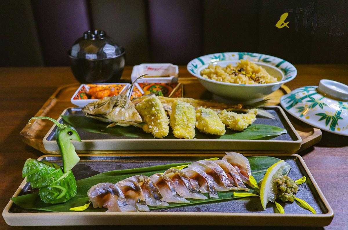 銅鑼灣 居酒屋 日式料理 申子 獅子山下 原條池魚定食 魚 定食