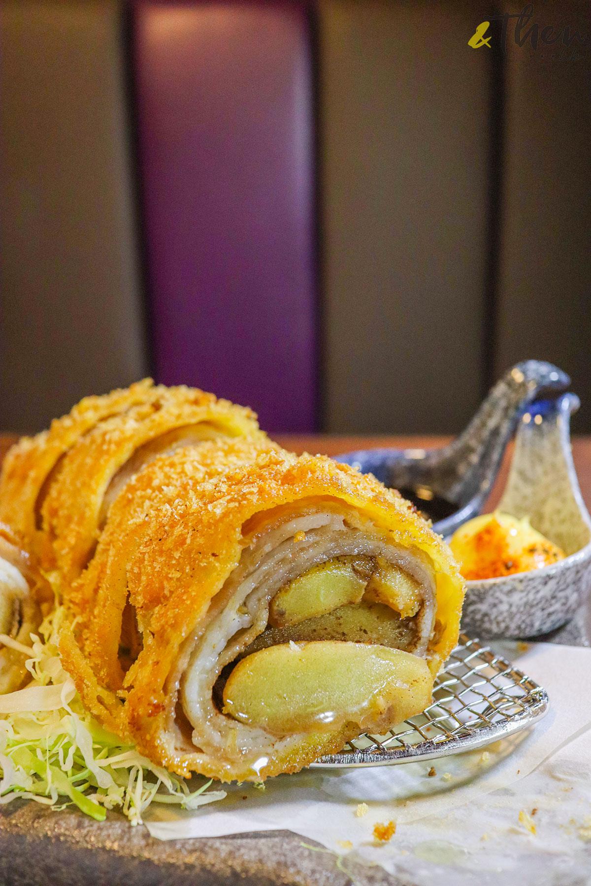 銅鑼灣 居酒屋 日式料理 申子 獅子山下 吉列千層豚肉卷 豚肉卷
