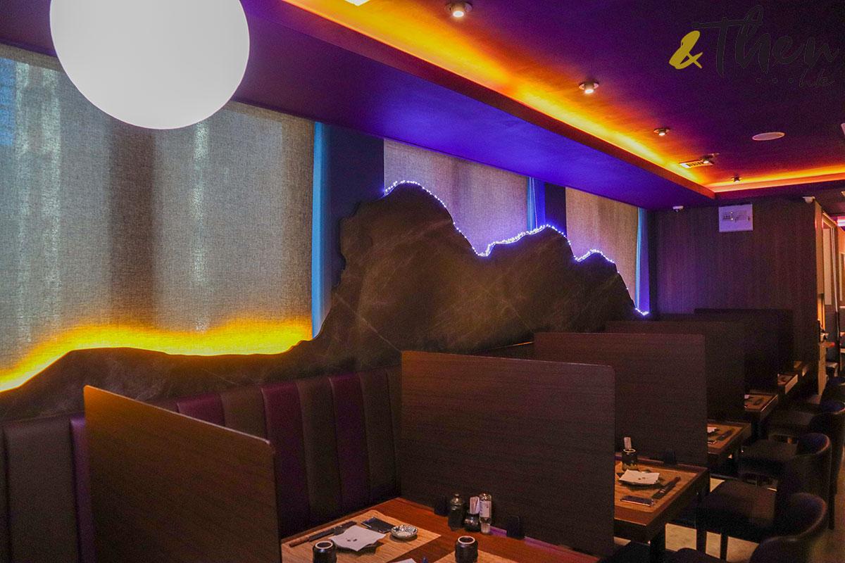 銅鑼灣 居酒屋 日式料理 申子 獅子山下 背板 燈飾