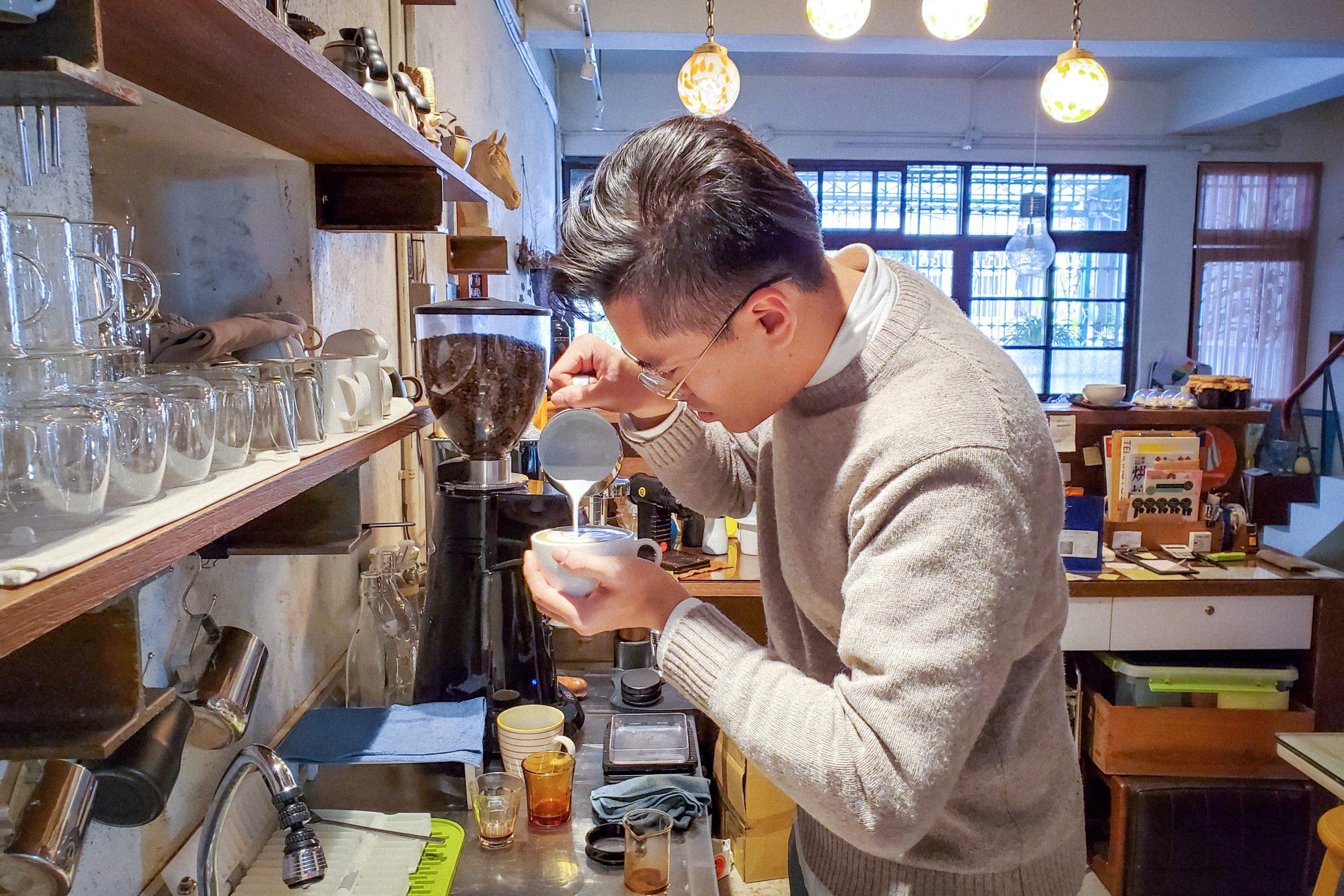 台灣 台灣味市集 pop-up 南豐紗廠 台灣好物 鳥山商號 Andy 咖啡 手沖咖啡