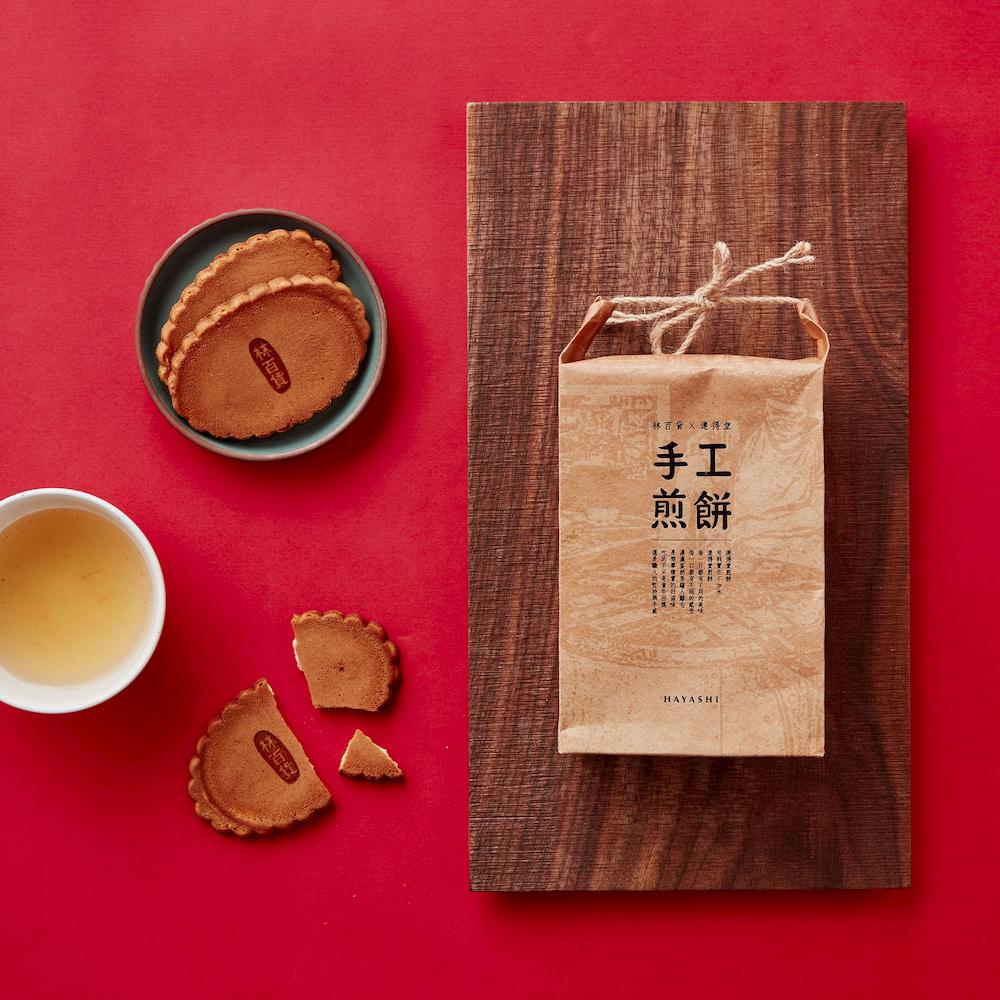 台灣 台灣味市集 pop-up 南豐紗廠 台灣好物 林百貨 連得堂 手工煎餅