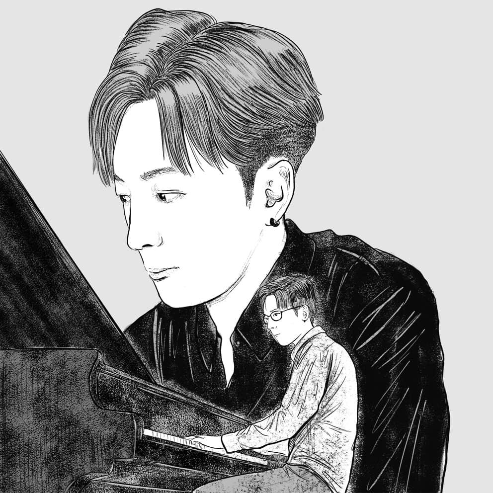 香港藝術 插畫家 Pen So 黑白漫畫 災難之後 九龍城寨 本土文化 Edan 肖像畫 MIRROR 小諧星