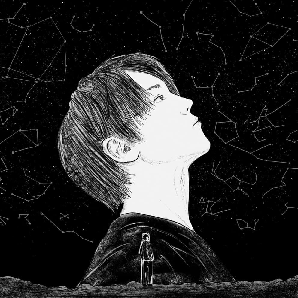 香港藝術 插畫家 Pen So 黑白漫畫 災難之後 九龍城寨 本土文化 姜濤 肖像畫 MIRROR Dear My Friend,