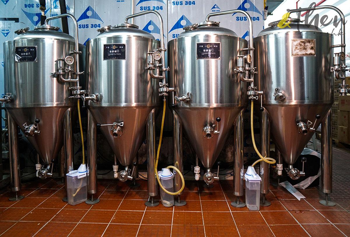 Citibrew 城釀 手工啤 啤酒廠 啤酒樽 香港品牌 香港人 發酵缸