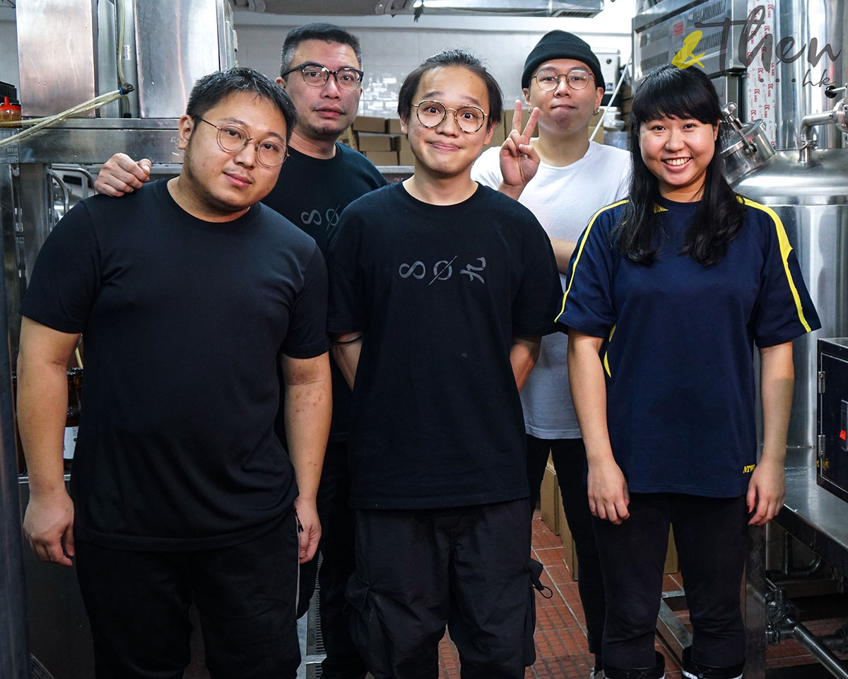 Citibrew 城釀 手工啤 啤酒廠 啤酒樽 香港品牌 香港人 員工 廠房