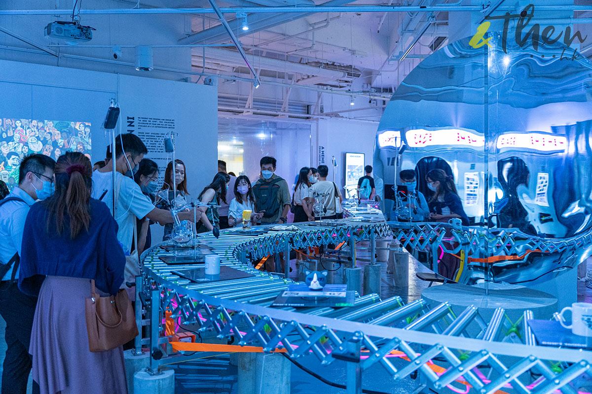 K11 Art Mall 9GAG MEME展覽 MEME MUSEUM 4D互動 AR 運輸帶
