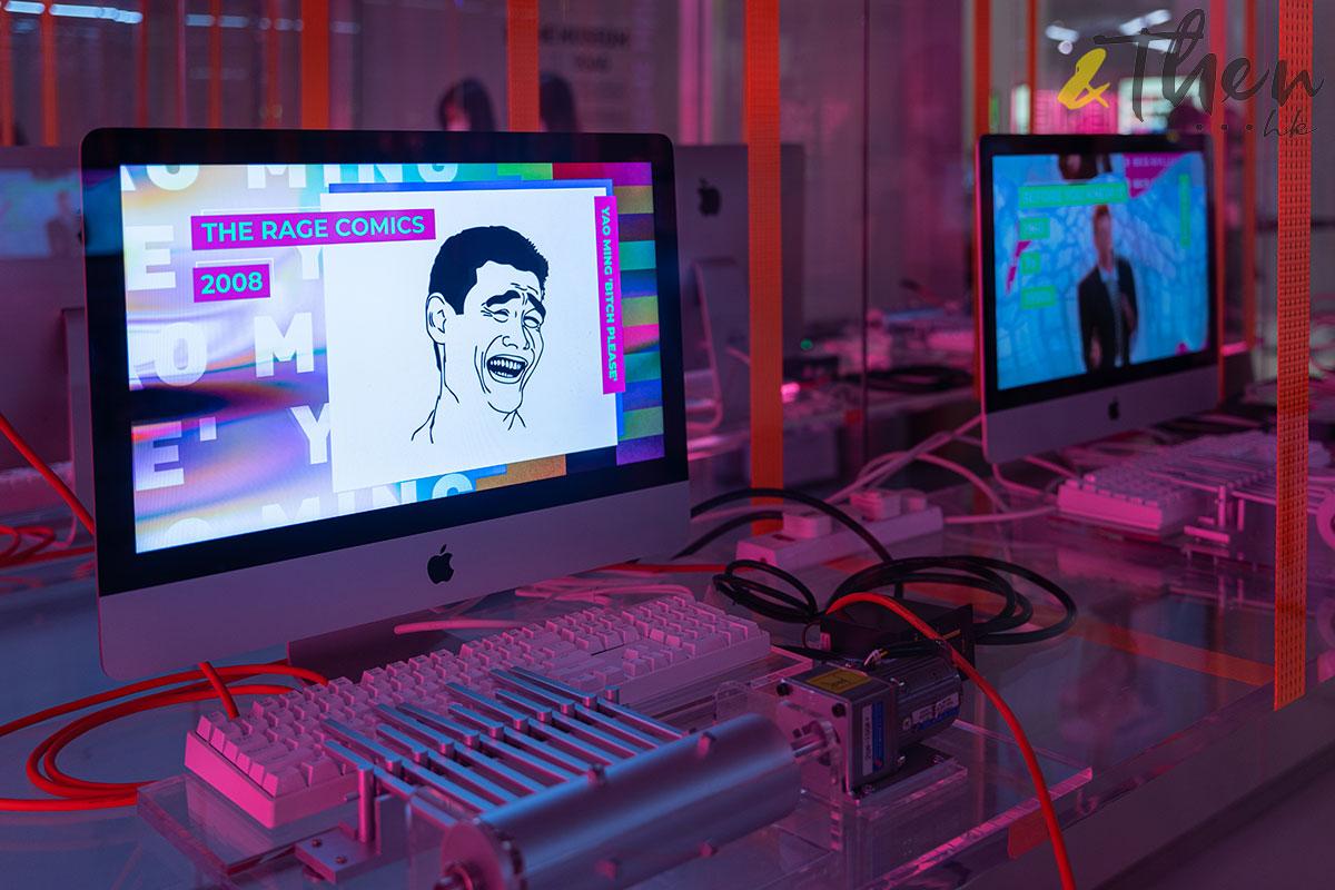 K11 Art Mall 9GAG MEME展覽 MEME MUSEUM iMac 姚明笑