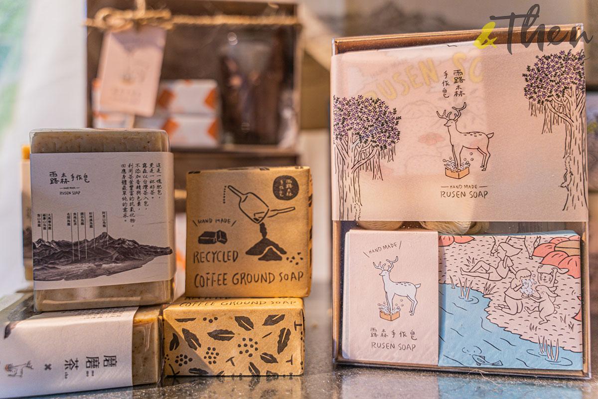 台灣 台灣味市集 pop-up 南豐紗廠 台灣好物 露森 露森手工皂禮盒 手工皂