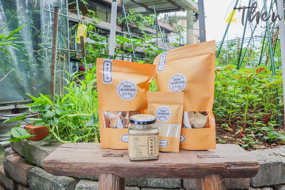香港品牌 本土農業 本地產菇菌 香城遺菇 Russell 咖啡渣 乾蠔菇 蠔菇粉