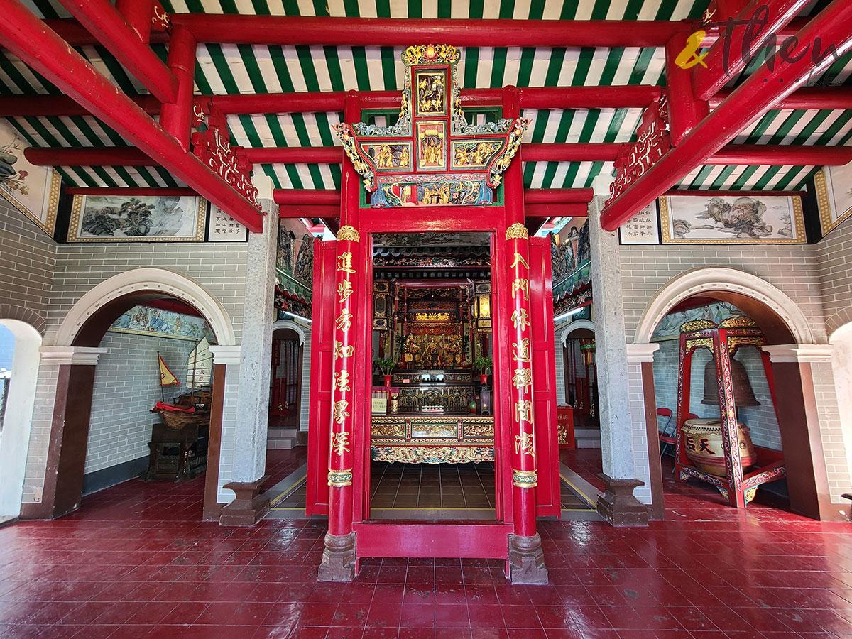 十月三日 郊遊 九巴 96R 免費乘車日 黃石碼頭 西貢 塔門 行山 天后古廟 廟宇