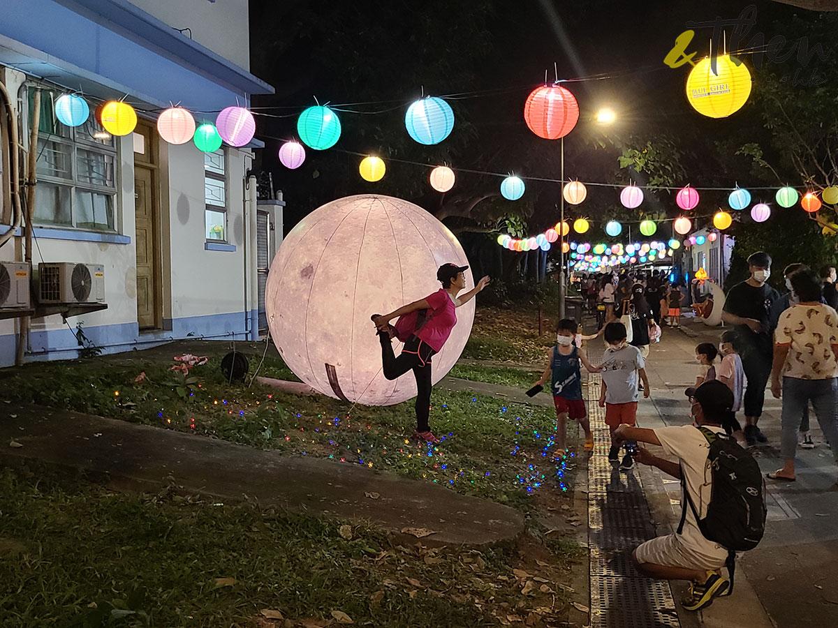 中秋節 大澳 大嶼山 水鄉花燈節 大澳鄉事會廣場 燈海 花燈 月球