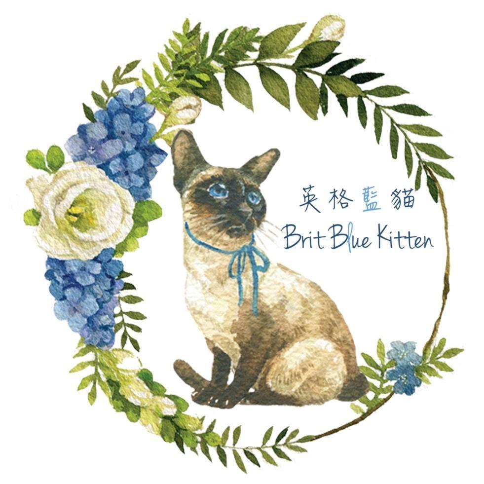 台灣 插畫師 前動畫師 Ingrid 英格藍貓 水彩 療癒 動物畫 肖像畫