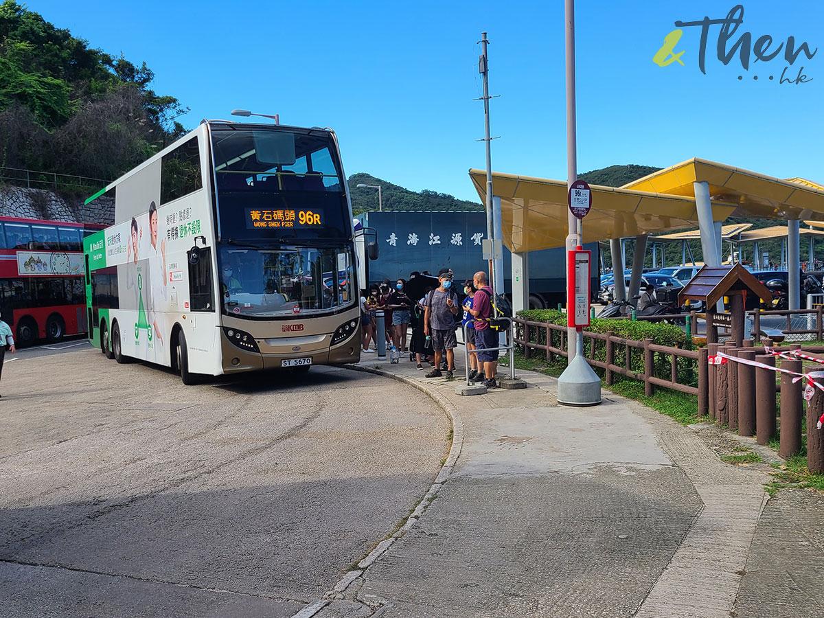 十月三日 郊遊 九巴 96R 免費乘車日 黃石碼頭 西貢 塔門 行山 巴士