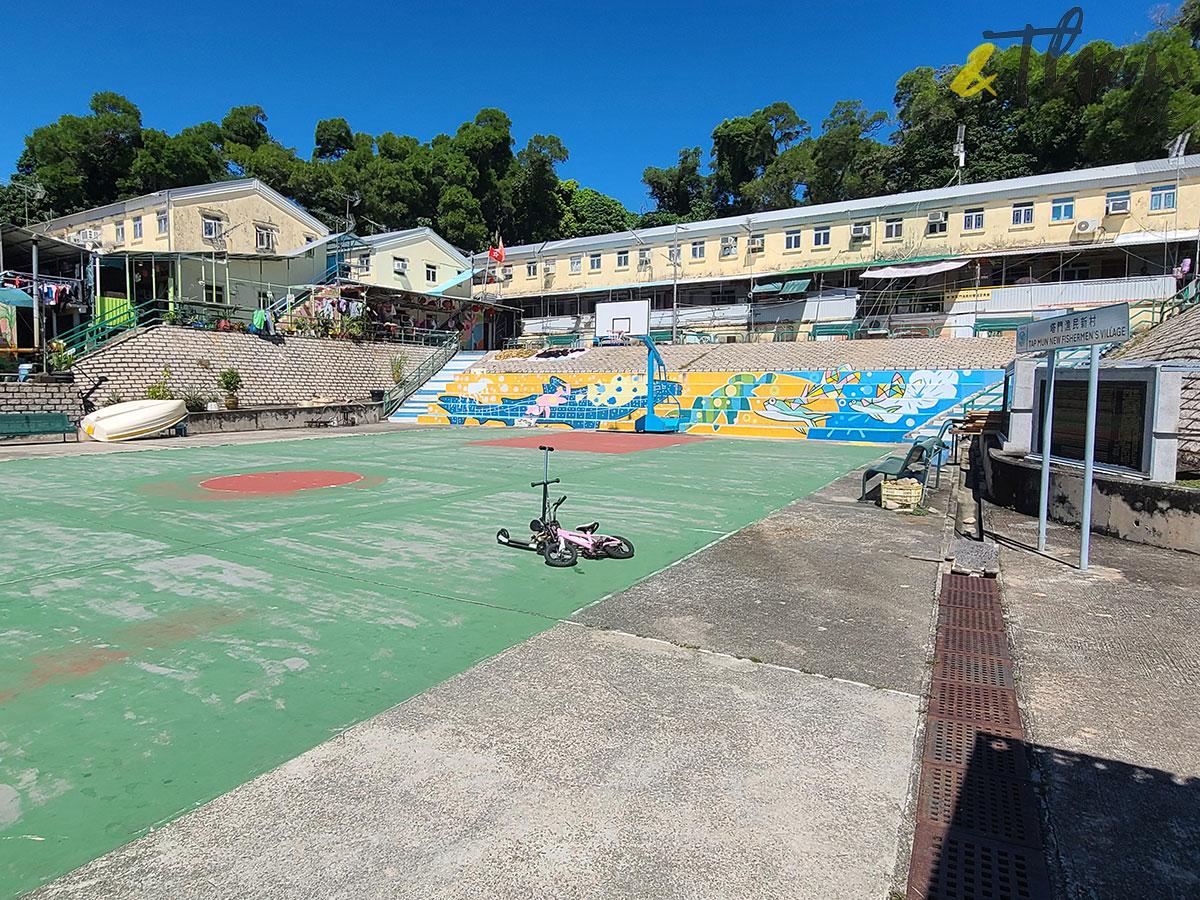 十月三日 郊遊 九巴 96R 免費乘車日 黃石碼頭 西貢 塔門 漁民新村 籃球場