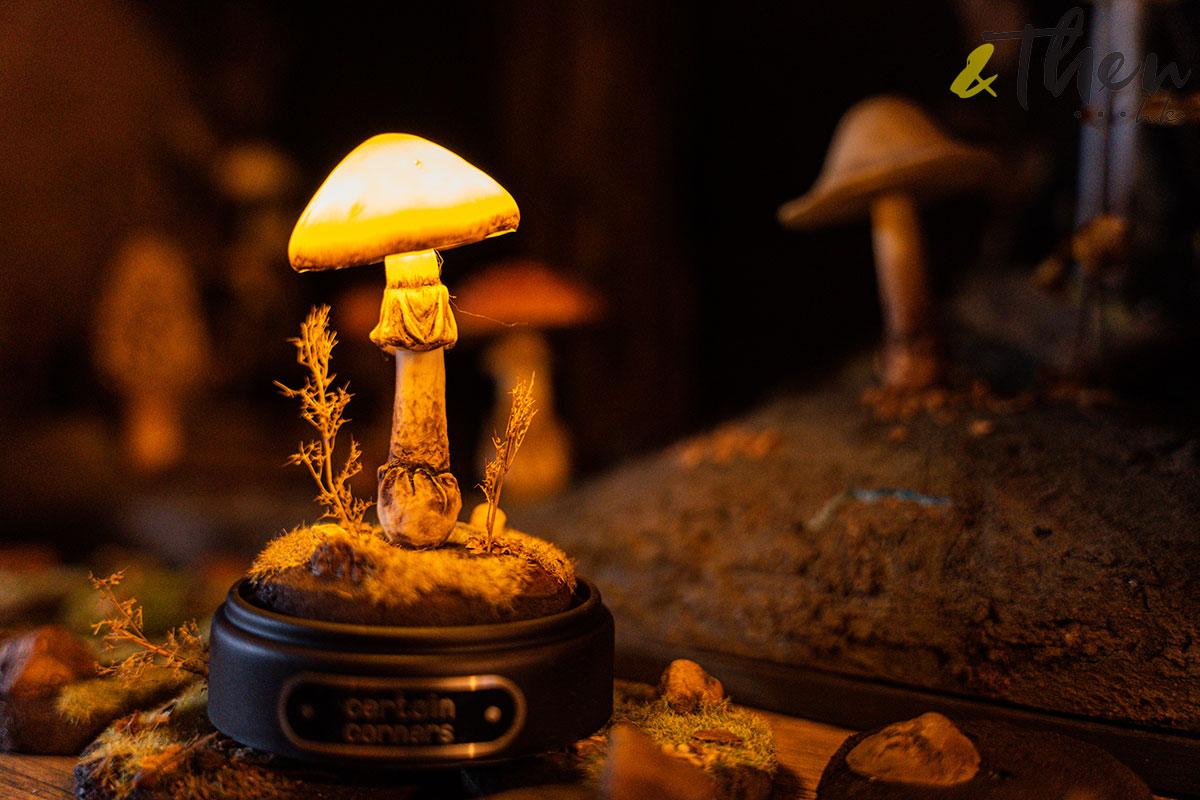 Certain Corners 蘑菇 蘑菇燈工作坊 蘑菇燈 Horner 模型擺設