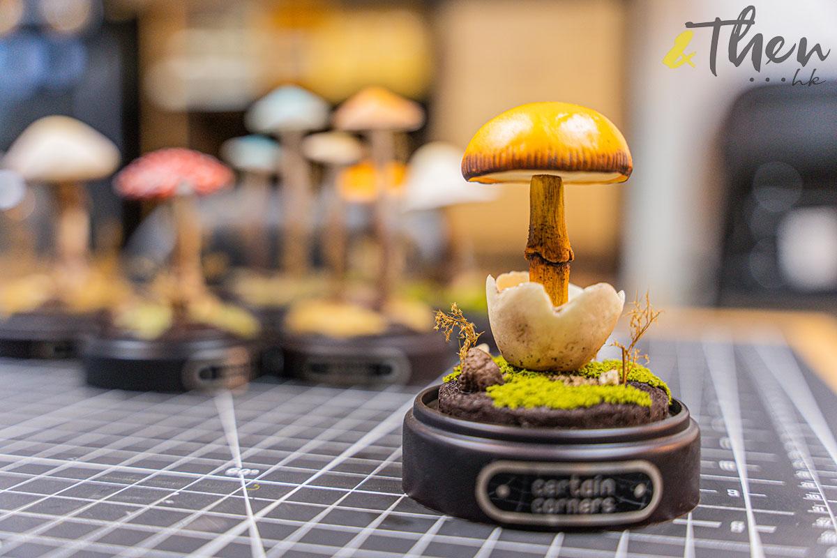Certain Corners 蘑菇 蘑菇燈工作坊 蘑菇燈 Horner 模型擺設 橙蓋鵝膏菌