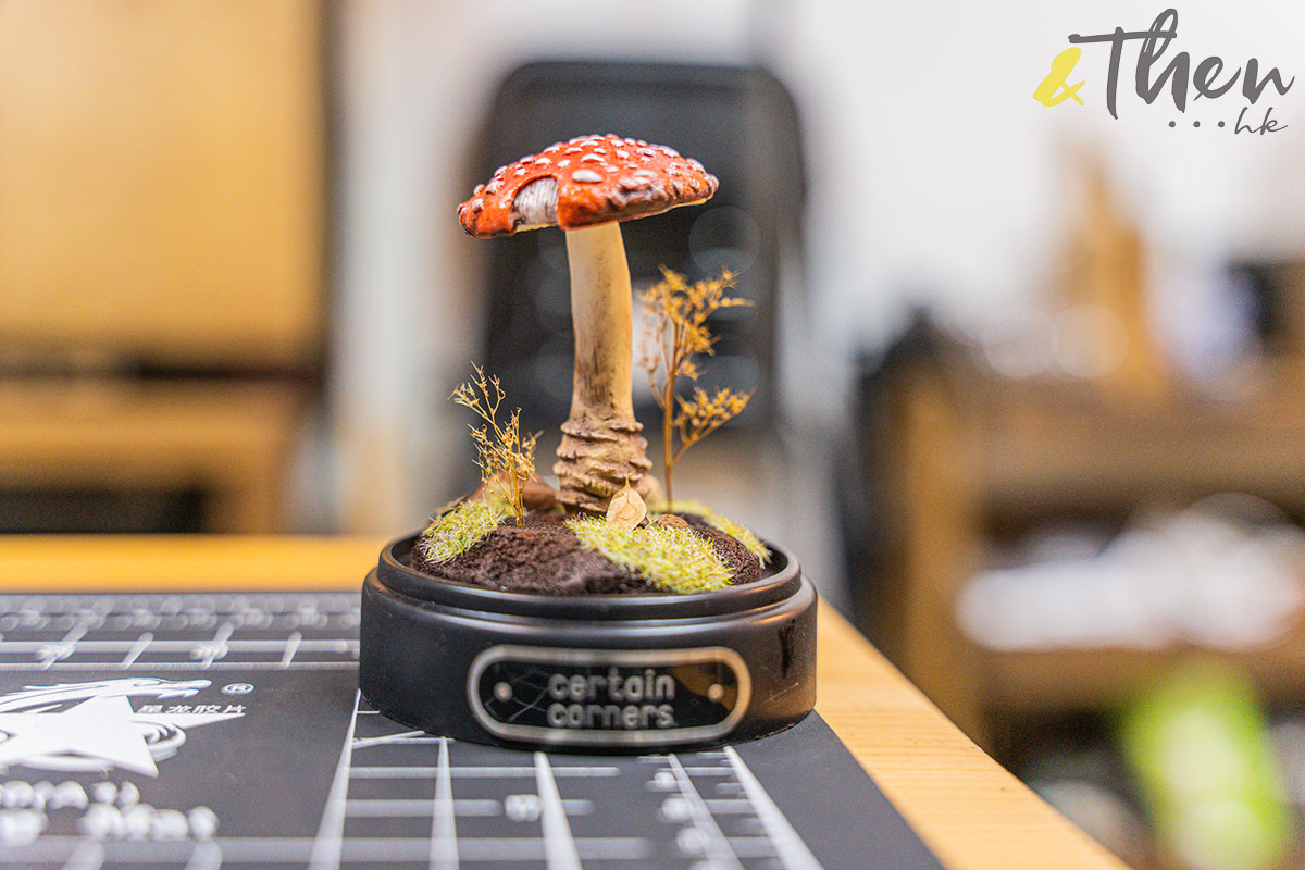Certain Corners 蘑菇 蘑菇燈工作坊 蘑菇燈 Horner 模型擺設 毒蠅傘